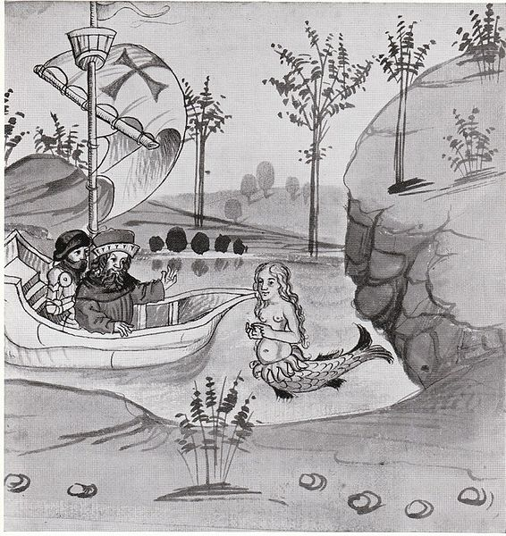 """""""Salman und Morolf"""" von Hans Dirnstein. Ms. Germ. Quart 13. Frankfurt am Main 1479"""