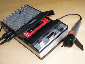 Philips Cassetten-Recorder EL 3302 von 1968. Foto: Magnus Manske. 2009