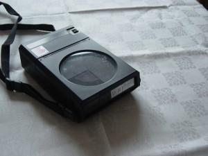 """Der 1984 veröffentlichte Sony """"D-50"""". Foto: Bernd Kirchhof © 2011"""