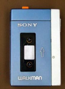 """Der Sony """"TPS-L2"""" von 1979, erste """"Walkman"""". Foto: joho345. 2007"""